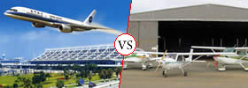 Difference between Airport and Aerodrome