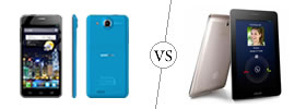 Alcatel One Touch Idol Ultra vs Asus FonePad