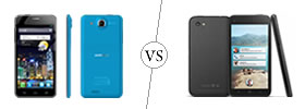 Alcatel One Touch Idol Ultra vs HTC First
