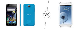 Alcatel One Touch Idol Ultra vs Samsung Galaxy Grand