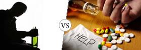 Alcoholics vs Addicts
