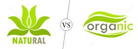 All Natural vs  Organic
