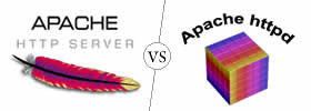 Difference between Apache and Httpd