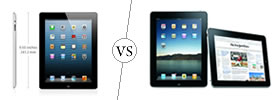 Apple iPad 2 vs iPad 3