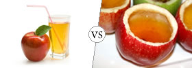 Apple Juice vs Apple Cider