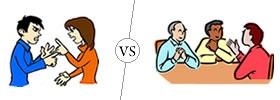 Argument vs Discussion