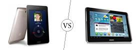 Asus FonePad vs Samsung Galaxy Note 10.1