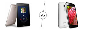 Asus FonePad vs Micromax A116 Canvas HD