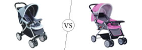 Difference between Baby Pram and Stroller