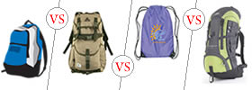 Difference between Backpack, Haversack, Knapsack and Rucksack