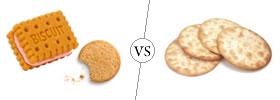 Biscuits vs Crackers
