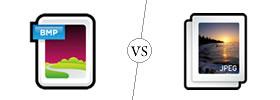 Bitmap vs Jpeg