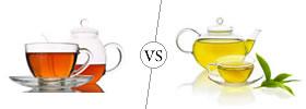 Black tea vs Green tea