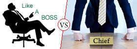 Difference between Boss and Chief