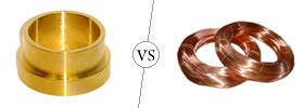 Brass vs Copper