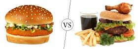 Burger vs Hamburger
