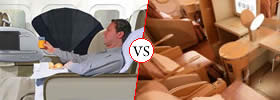 Difference between Business Class and First Class Flights
