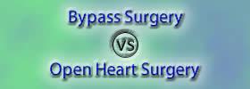 Bypass Surgery vs Open Heart Surgery
