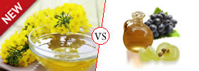 Canola Oil vs Grape Seed Oil