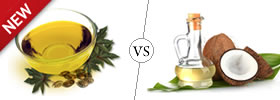 Castor Oil vs Coconut Oil
