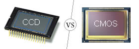 Difference between CCD and CMOS Sensor