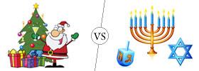 Christmas vs Hanukkah
