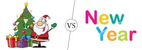 Christmas vs New Year