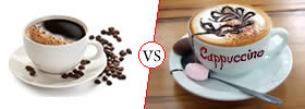 Difference between Coffee and Cappuccino
