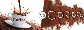 Difference between Coffee and Cocoa