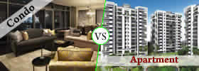 Difference between Condo and Apartment
