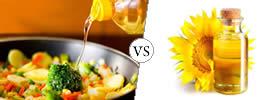 Cooking Oil vs Sunflower Oil