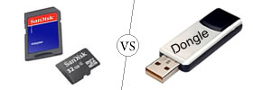Difference between Data Card and Dongle