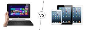 Dell XPS 10 vs iPad