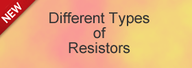 Different Types of Resistors