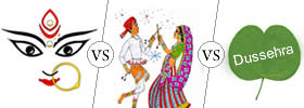 Difference between Durga Puja, Navratri and Dussehra