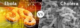 Ebola vs Cholera