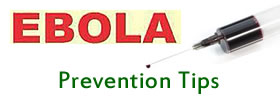Ebola Prevention Tips