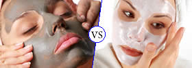 Difference between Facial Mask and Facial Pack