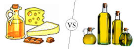 Difference between Fats and Oils