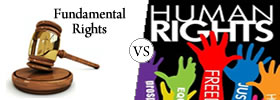 Fundamental Rights vs Human Rights