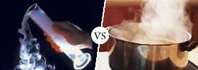 Gas vs  Vapor