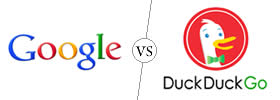 Difference between Google and DuckDuckGo