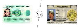 Green Card vs Work Permit
