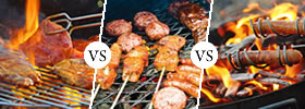 Grilling vs Barbecuing vs Roasting