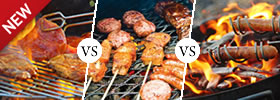 Grilling vs Barbecuing vs Roasting