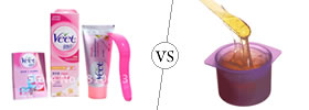 Difference between Hair Removal Cream and Waxing