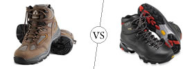 Hiking Boots vs Backpacking Boots