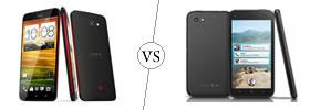 HTC Butterfly vs HTC First