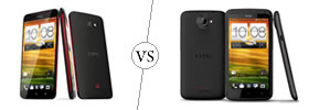 HTC Butterfly vs HTC One X
