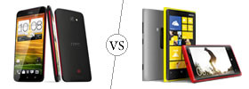 HTC Butterfly vs Nokia Lumia 920